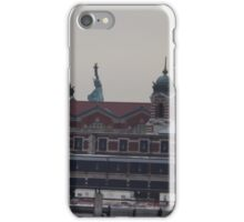 Ellis Island, Statue of Liberty, View from Liberty State Park, New Jersey iPhone Case/Skin