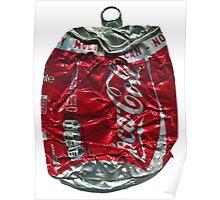 Coca Cola - Crushed Tin - 2 Poster