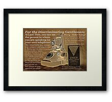 New Innovation! Framed Print