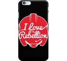 I LOVE THE REBELLION iPhone Case/Skin