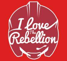 I LOVE THE REBELLION by Alienbiker23