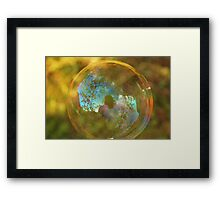 Blue Sky at Night Framed Print