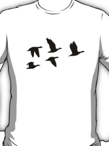 Flying geese birds T-Shirt