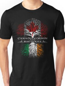 Canadian Grown with Irish Roots Unisex T-Shirt
