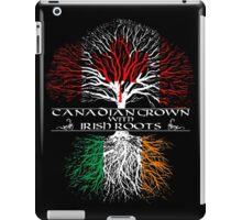Canadian Grown with Irish Roots iPad Case/Skin