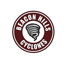 Beacon Hills Cyclones Teen Wolf Photographic Print