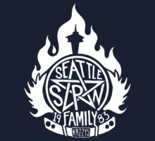 Seattle is SUPERNATURAL (for dark T-shirt options) One Piece - Long Sleeve