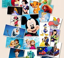 Disney's Best iPhone case by Emily2015