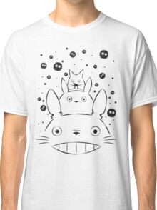 Totoro and Friends Simple Classic T-Shirt
