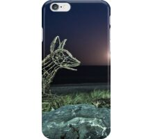 Ghost Dingoes and the Setting Moon iPhone Case/Skin