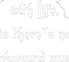 Background Music Sticker