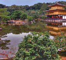Kinkaku-ji Temple, Japan by LizzieMorrison