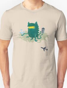 Octogrr Alien Holiday T-Shirt