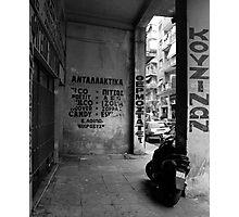 Moto Photographic Print