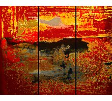 Abstract series Triptych  Photographic Print