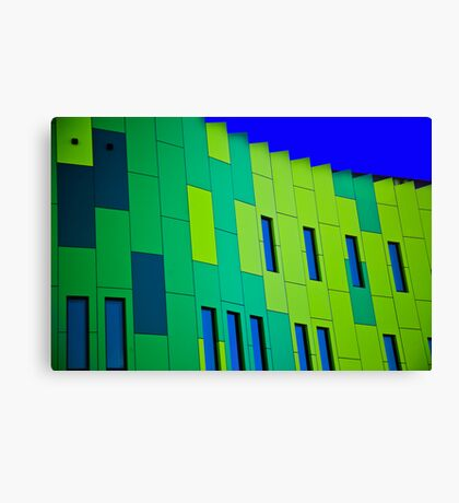 Contemporary Architecture Canvas Print