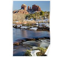 Red Rock Winter Poster