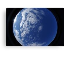 Earth or Space ? Canvas Print