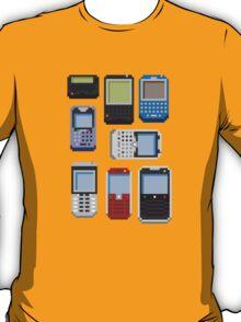 Pixel History (BlackBerry) T-Shirt