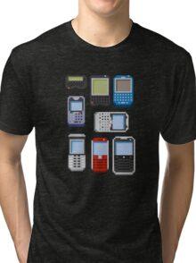 Pixel History (BlackBerry) Tri-blend T-Shirt