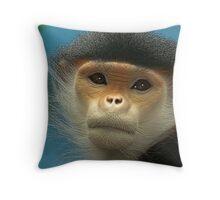 Open Gaze Throw Pillow