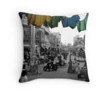 Down on Corner, Out In The Street Throw Pillow