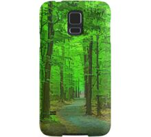 Green Trees - Impressions of Summer Forests Samsung Galaxy Case/Skin