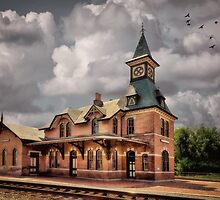 Train Station At Point Of Rocks by Lois  Bryan