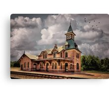 Train Station At Point Of Rocks Canvas Print