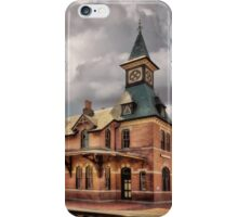 Train Station At Point Of Rocks iPhone Case/Skin