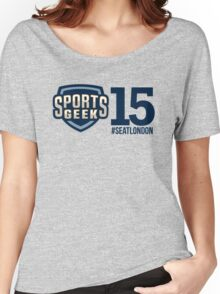 Sports Geek #SEATLONDON Women's Relaxed Fit T-Shirt