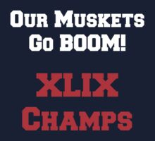 Our Muskets Go Boom! T-Shirt