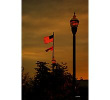 That star-spangled banner yet wave Photographic Print