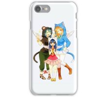 Fairy Tail Girls iPhone Case/Skin