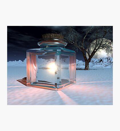 Jar of Light Photographic Print