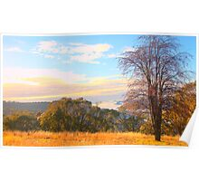 Valley View - Hill End - The HDR Series Poster