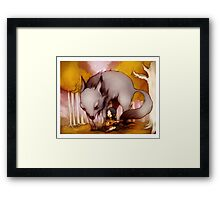 Wolf Lullaby  Framed Print