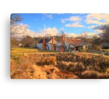 Needs Work - Hill End - The HDR Experience Canvas Print