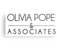 Olivia Pope & Associates Metal Print