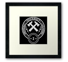 District 2 - Masonry Framed Print