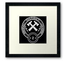 District 2 - Masonry Framed Print