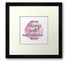Adventure Seeker Framed Print
