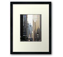 Architectural Diversity Framed Print