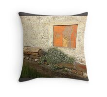 The Painted Window Throw Pillow