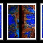 Moroccan Rust Triptych by Damienne Bingham