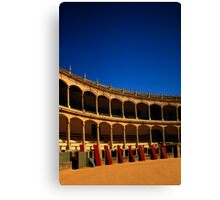 Plaza de Toros de Ronda Canvas Print