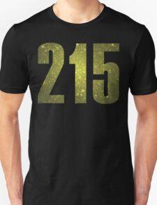 215 Philly | Phone Area Code Shirts Unisex T-Shirt