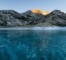 Abraham Lake by MichaelJP