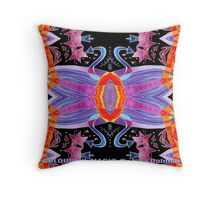 Arrows to Sew Your Heart With Colour Throw Pillow