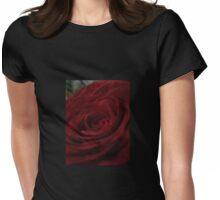 Dark Rose Womens Fitted T-Shirt